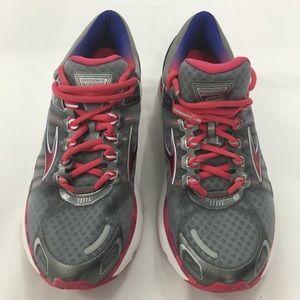 Brooks Womens Sz 8 Transcend 2 Running Shoes
